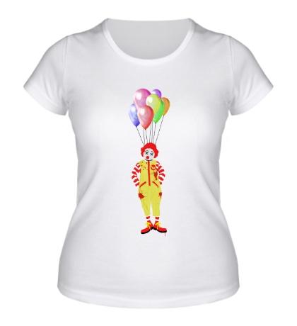 Женская футболка Kill That Creepy Clown