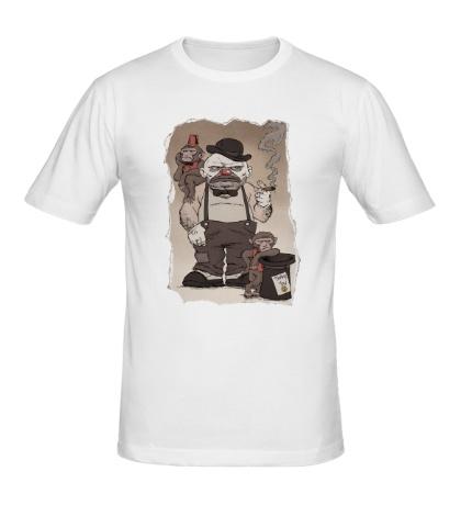 Мужская футболка Сварливый Клоун