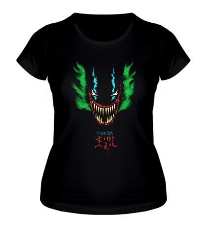 Женская футболка Clown Gone Evil