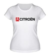 Женская футболка Citroen Line