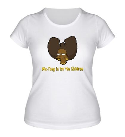Женская футболка Wu-Tang for children
