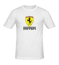 Мужская футболка Ferrari Shield