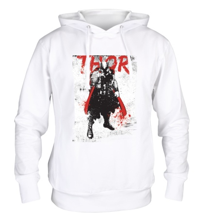 Толстовка с капюшоном Thor In Grunge