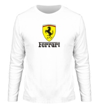 Мужской лонгслив Ferrari Shield