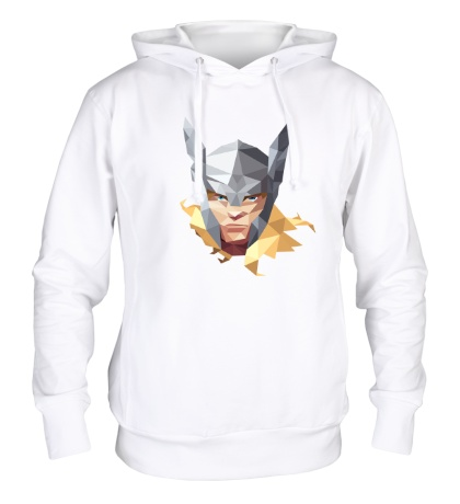 Толстовка с капюшоном Geometric Thor