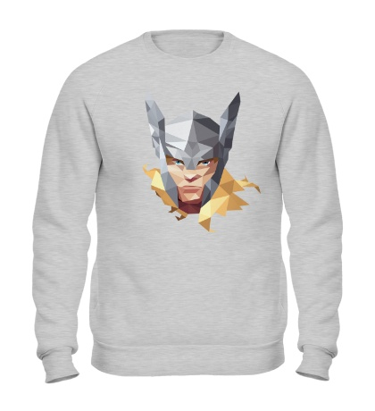 Свитшот Geometric Thor