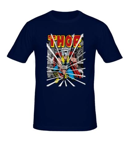 Мужская футболка Могучий молот Тора