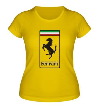 Женская футболка Ferrari Italia