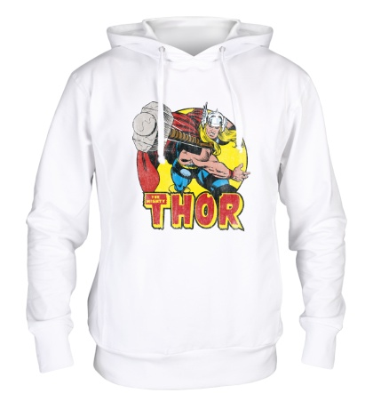 Толстовка с капюшоном Thor Springs Into Action