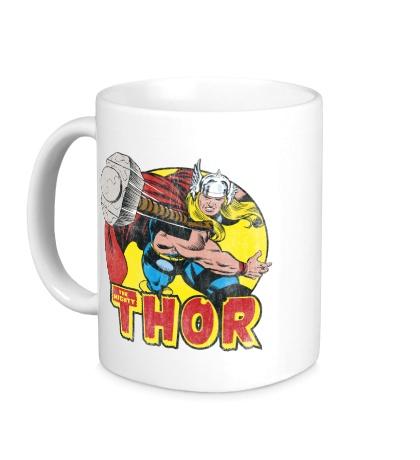 Керамическая кружка Thor Springs Into Action