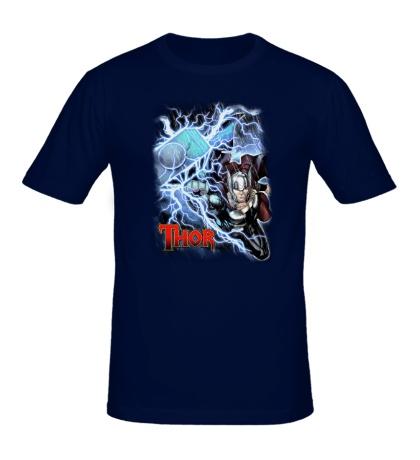 Мужская футболка Тор, Бог Грома