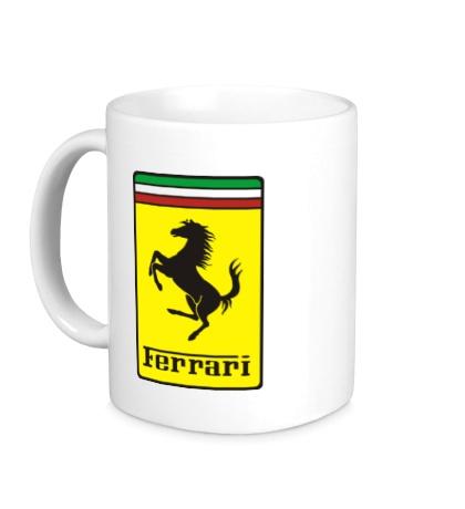 Керамическая кружка Ferrari Italia
