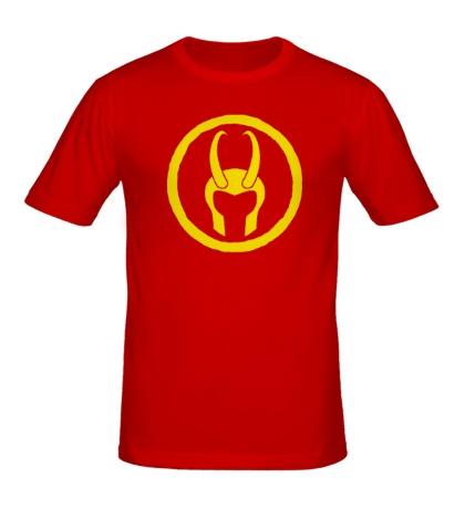 Мужская футболка Символ Локи