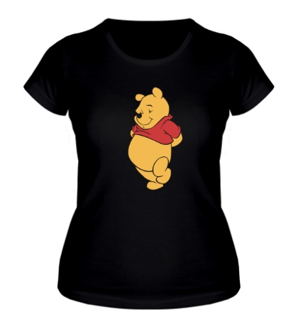 Женская футболка Винни Пух