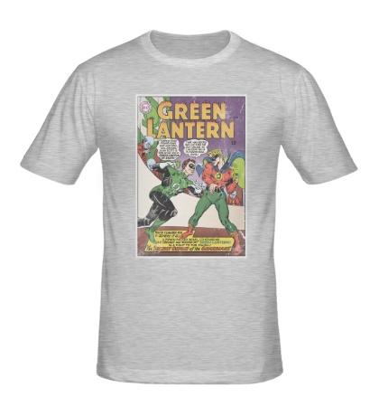 Мужская футболка Green Latern: Poster