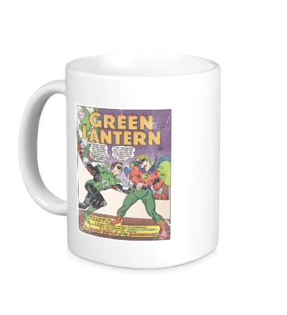 Керамическая кружка Green Latern: Poster