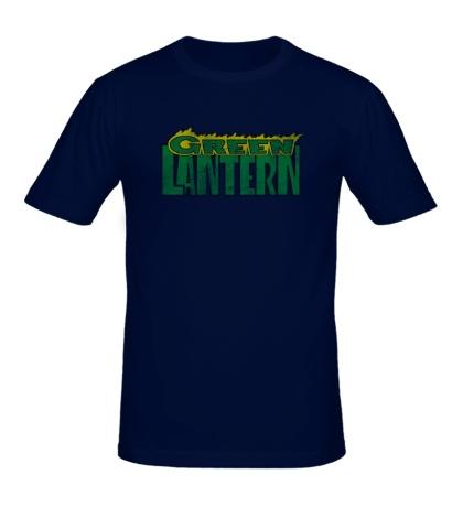 Мужская футболка Green Latern: Sign