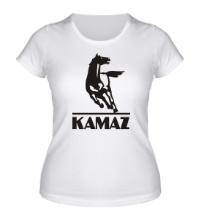 Женская футболка Kamaz