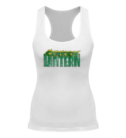 Женская борцовка Green Latern: Sign