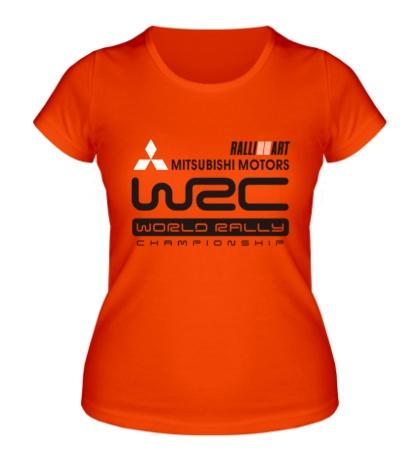 Женская футболка Mitsubishi Motors WRC