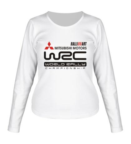 Женский лонгслив Mitsubishi Motors WRC