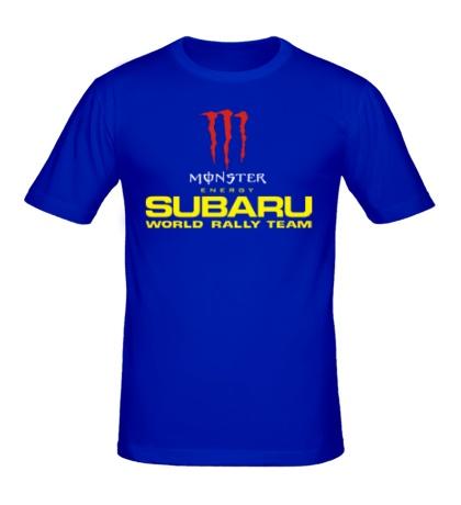 Мужская футболка Subaru Rally Team
