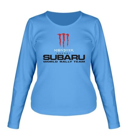 Женский лонгслив Subaru Rally Team