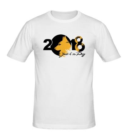 Мужская футболка Year fo the Dog