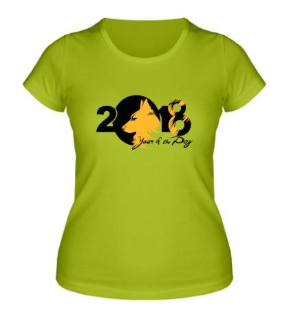 Женская футболка Year fo the Dog