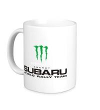 Керамическая кружка Subaru Rally Team