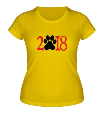 Женская футболка 2018