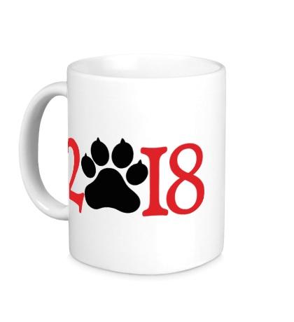 Керамическая кружка 2018