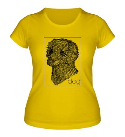Женская футболка «Dog Portrait»