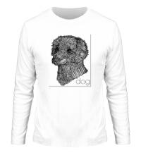 Мужской лонгслив Dog Portrait