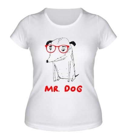 Женская футболка Mr. Dog