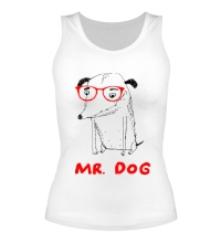 Женская майка Mr. Dog