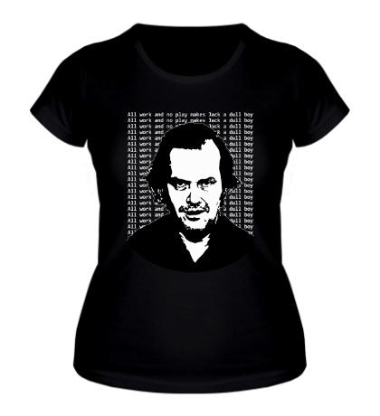 Женская футболка Джек Николсон