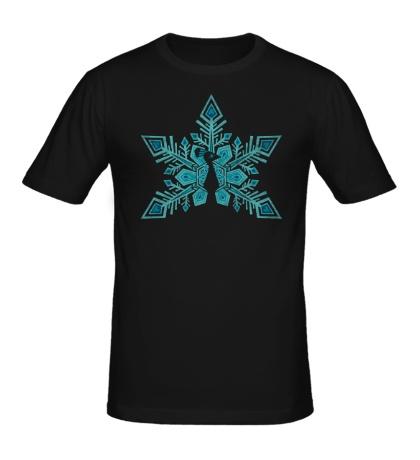 Мужская футболка Снежная птица
