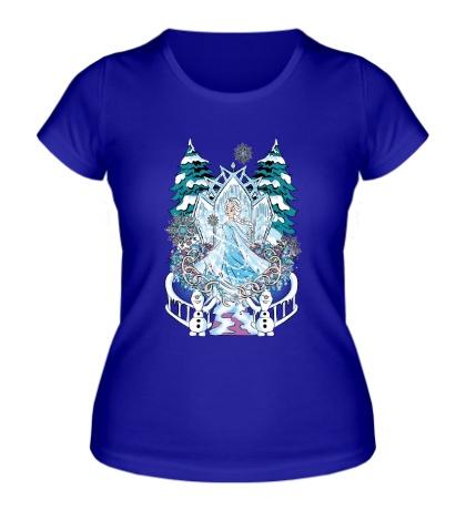 Женская футболка The Snow Queen
