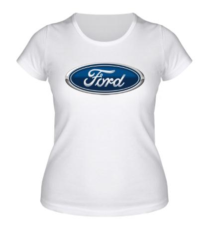 Женская футболка Ford