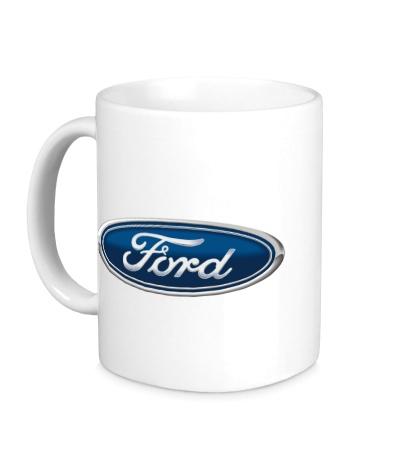 Керамическая кружка Ford