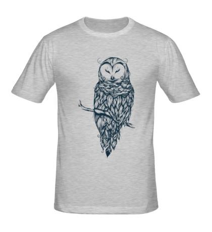 Мужская футболка Snow Owl
