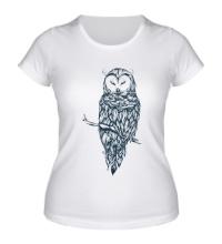 Женская футболка Snow Owl