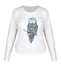 Женский лонгслив Snow Owl