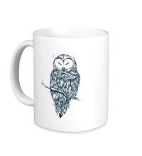 Керамическая кружка Snow Owl
