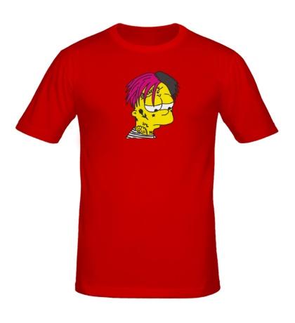 Мужская футболка Lil peep crybaby