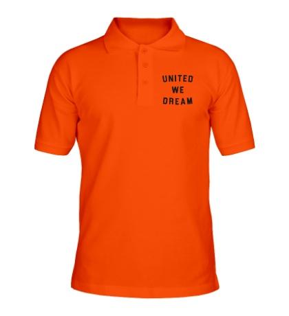 Рубашка поло United we dream