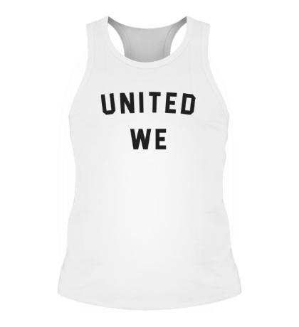Мужская борцовка United we dream