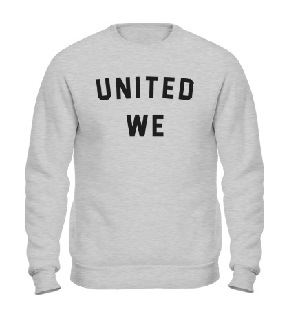 Свитшот United we dream