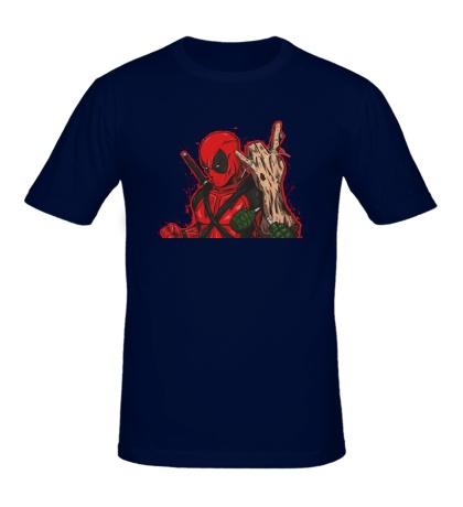 Мужская футболка DeadPool
